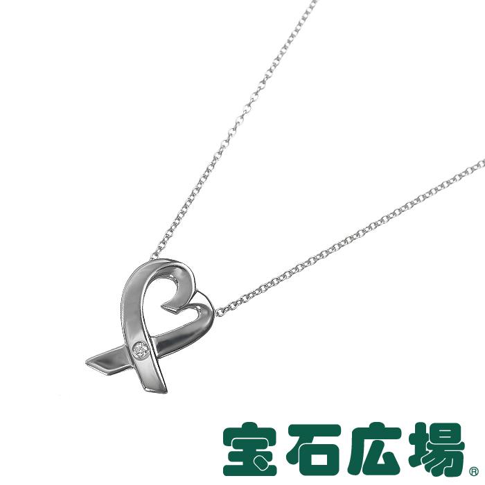 ティファニー TIFFANY&CO パロマ・ピカソ ラビングハート 1Pダイヤ ネックレス(S) 25604296【中古】 ジュエリー 送料・代引手数料無料