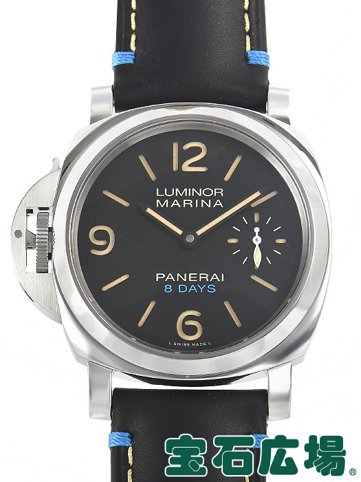 パネライ PANERAI ルミノール レフトハンド 8デイズ アッチャイオ PAM00796【新品】 メンズ 腕時計 送料・代引手数料無料