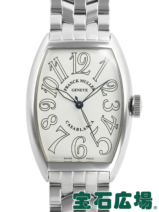 フランク・ミュラー FRANCK MULLER トノウカーベックス カサブランカ 5850CASA【中古】 メンズ 腕時計 送料・代引手数料無料