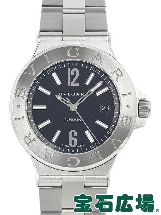 ブルガリ BVLGARI ディアゴノ DG40BSSD【中古】 メンズ 腕時計 送料・代引手数料無料