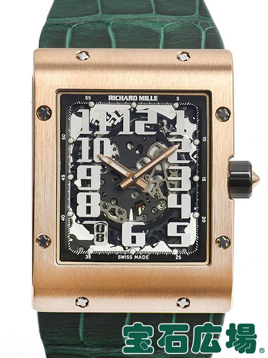 リシャール・ミル RICHARD MILLE オートマティック エクストラフラット スケルトン RM016【中古】 メンズ 腕時計 送料・代引手数料無料