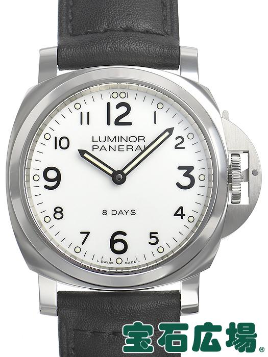 パネライ PANERAI ルミノールベース 8デイズ アッチャイオ PAM00561【中古】 メンズ 腕時計 送料・代引手数料無料