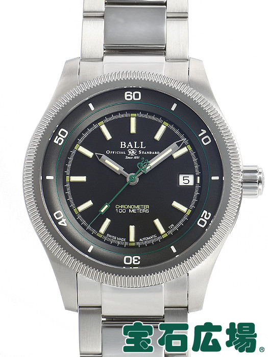 ボールウォッチ BALL WATCH エンジニアII マグニートーS NM3022C-N1CJ-BK【中古】 メンズ 腕時計 送料・代引手数料無料