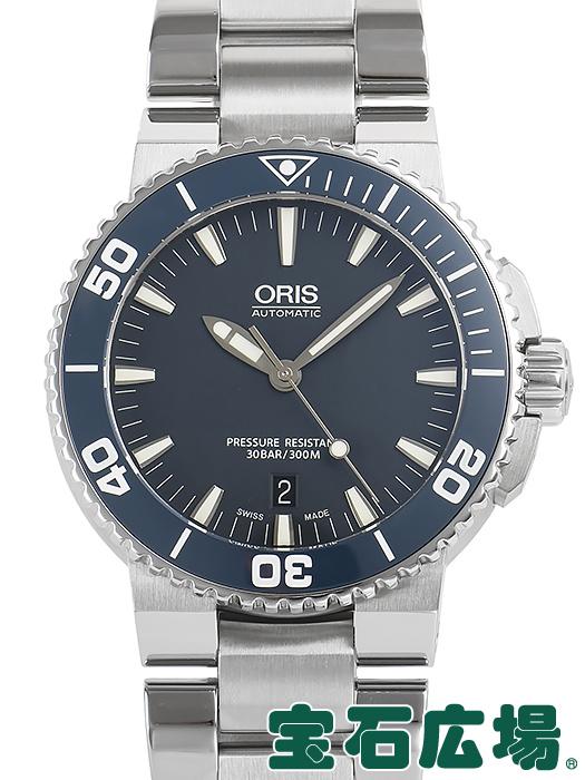 オリス ORIS アクイスデイト 733 7653 4155M【中古】 メンズ 腕時計 送料・代引手数料無料