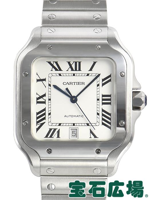 カルティエ CARTIER サントス ドゥ カルティエ LM WSSA0009【中古】 メンズ 腕時計 送料・代引手数料無料