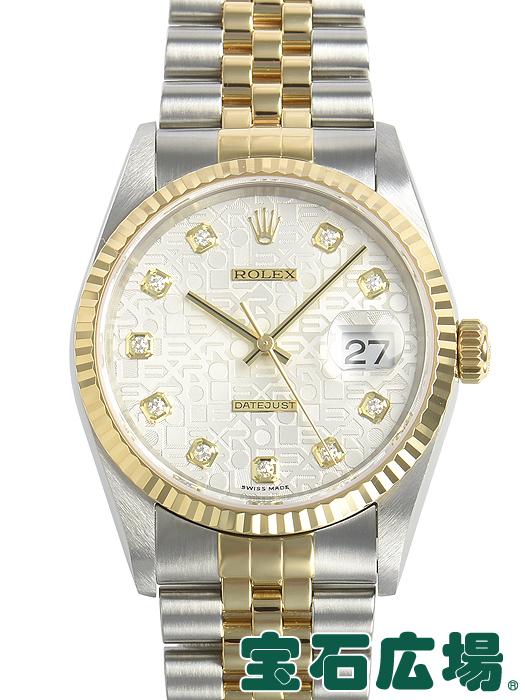 ロレックス ROLEX デイトジャスト 16233G【中古】 メンズ 腕時計 送料・代引手数料無料