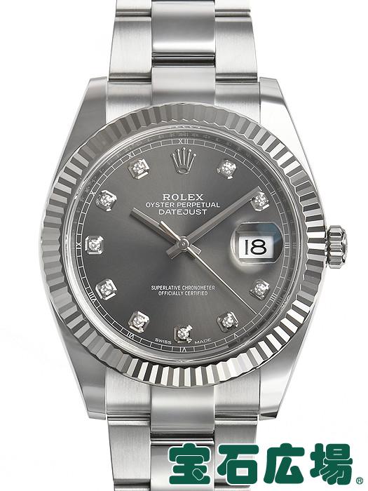 ロレックス ROLEX デイトジャスト41 126334G【中古】 メンズ 腕時計 送料・代引手数料無料