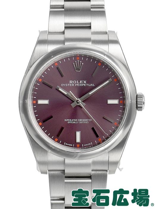 ロレックス ROLEX オイスターパーペチュアル 39 114300【中古】 未使用品 メンズ 腕時計 送料・代引手数料無料
