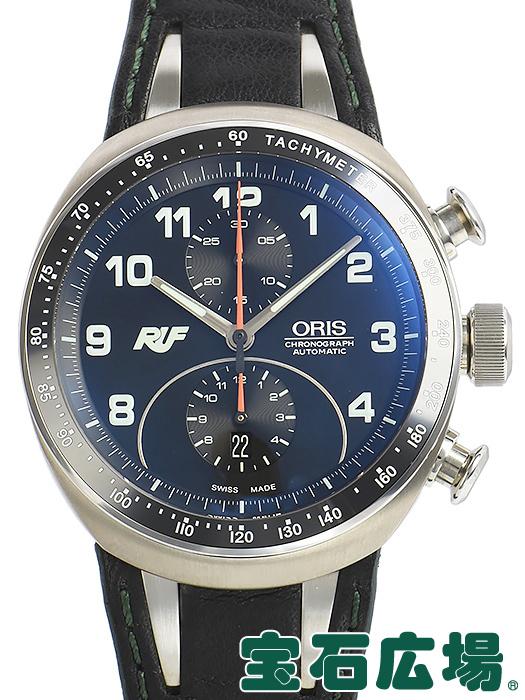 オリス ORIS RUF CTR3 クロノグラフ リミテッドエディション 限定3000本 01 673 7611 7084-Set【中古】 メンズ 腕時計 送料・代引手数料無料