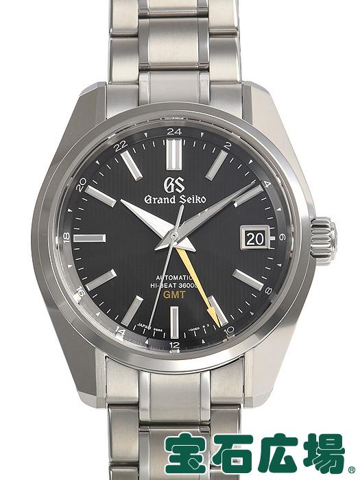 セイコー SEIKO グランドセイコー GMT マスターショップ限定モデル SBGJ213【中古】 未使用品 メンズ 腕時計 送料・代引手数料無料