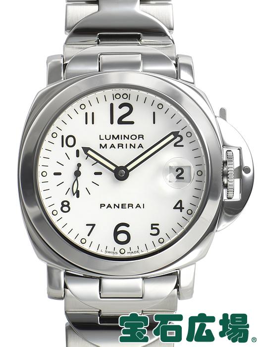 パネライ ルミノールマリーナ PAM00051【中古】 メンズ 腕時計 送料・代引手数料無料