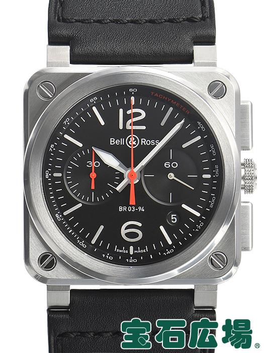 ベル&ロス BELL&ROSS BR03?94 BLACK STEEL BR03-94-BLC-ST/SCA【新品】 メンズ 腕時計 送料無料