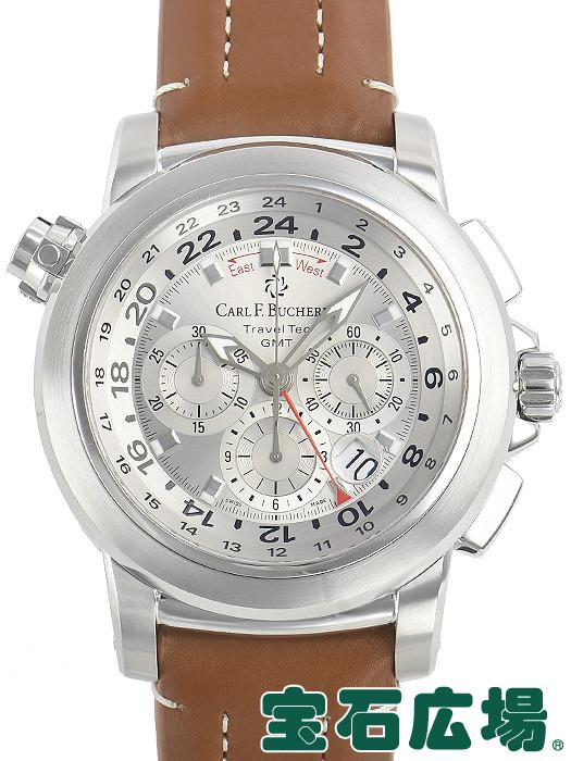 カールFブヘラ パトラビ トラベルテックGMT クロノグラフ 00.10620.08.11【中古】 メンズ 腕時計 送料・代引手数料無料