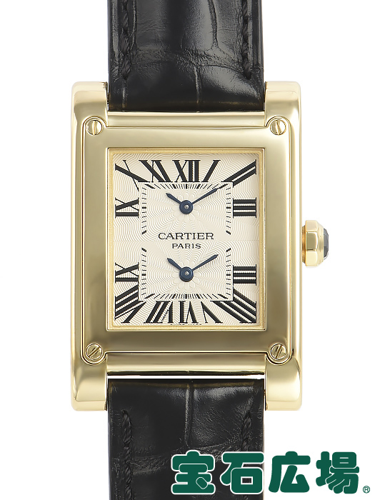 カルティエ CARTIER タンクアビス 2タイムゾーン W1534251【中古】 メンズ 腕時計 送料・代引手数料無料