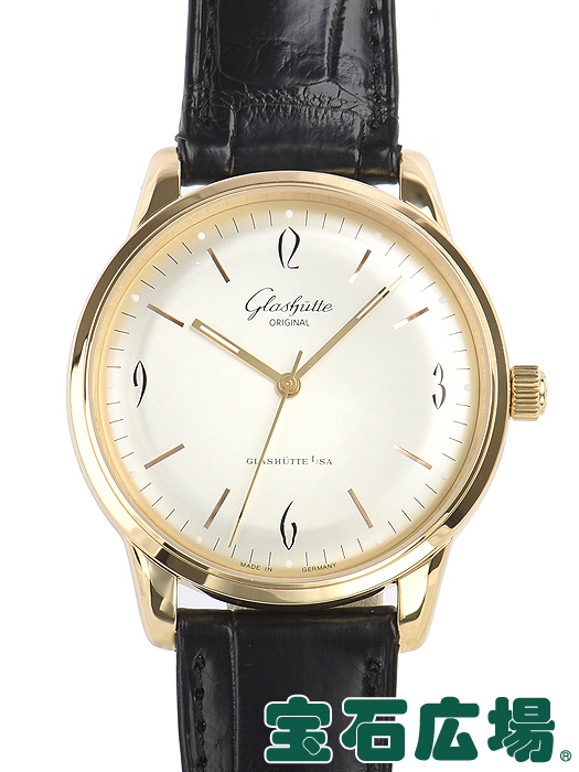 グラスヒュッテ オリジナル セネタ シックスティーズ 39-52-01-01-04 中古 GLASHUTTE 送料無料 メンズ ORIGINAL 激安通販専門店 腕時計 毎日続々入荷