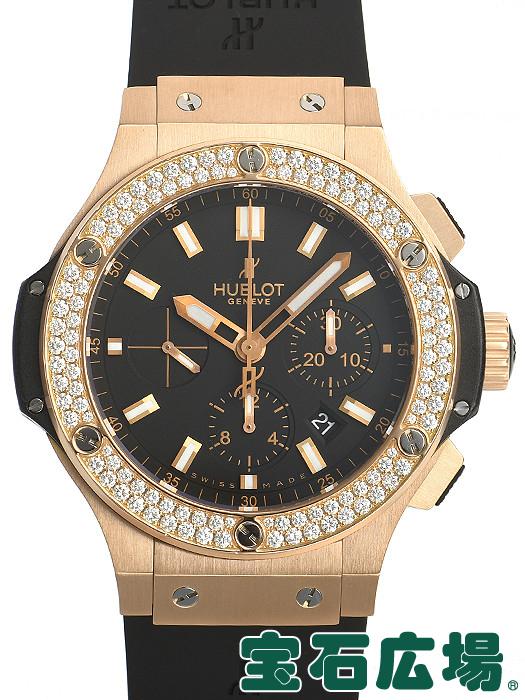 ウブロ HUBLOT ビッグバン エボリューション ゴールドダイヤモンド 301.PX.1180.RX.1104【中古】 メンズ 腕時計 送料・代引手数料無料