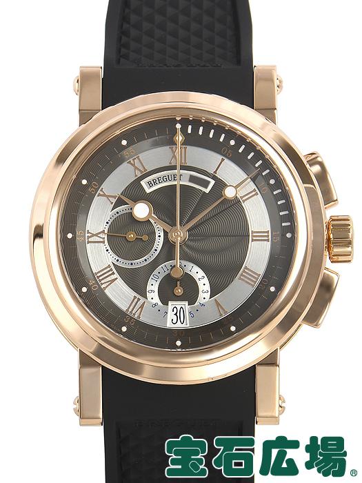 ブレゲ BREGUET マリーン クロノグラフ 5827BR/Z2/5ZU【中古】 メンズ 腕時計 送料・代引手数料無料