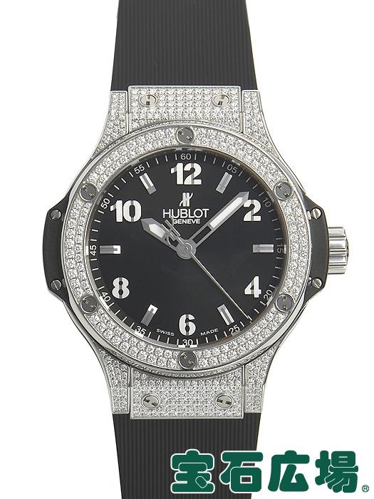 ウブロ HUBLOT ビッグバン38 スティールパヴェ 361.SX.1270.RX.1704【中古】 ユニセックス 腕時計 送料・代引手数料無料