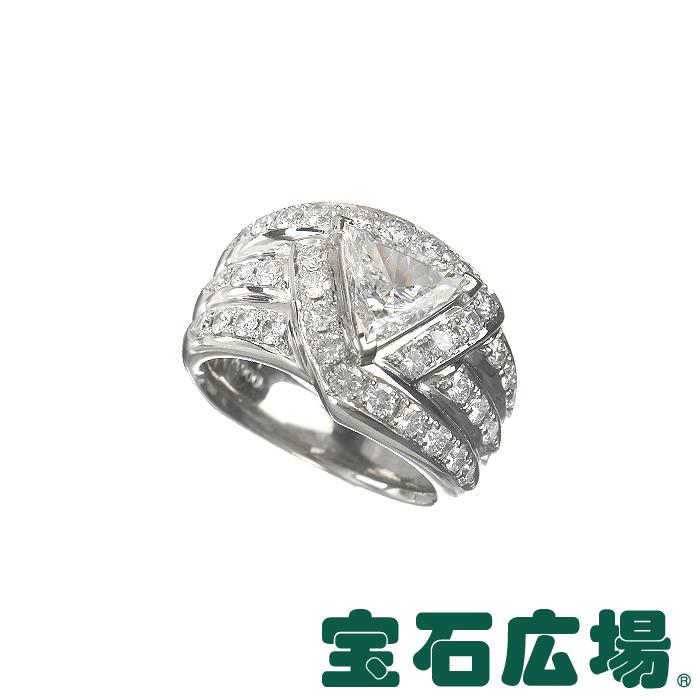 ノーブランド トリリアントカットダイヤ・ダイヤ リング 【中古】 ジュエリー 送料無料