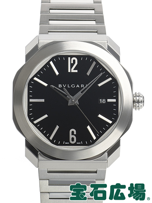ブルガリ BVLGARI オクト ローマ OC41BSSD【中古】 メンズ 腕時計 送料・代引手数料無料