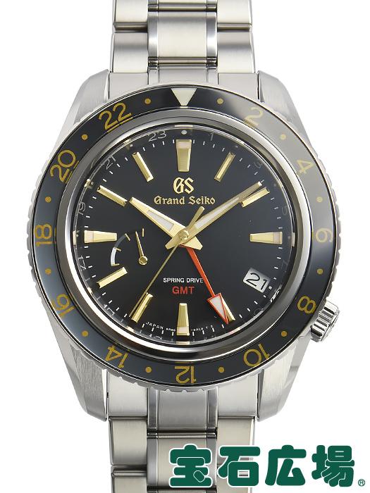 セイコー SEIKO グランドセイコー GMT マスターショップ限定モデル SBGE215 9R66-0AF0【中古】 未使用品 メンズ 腕時計 送料・代引手数料無料