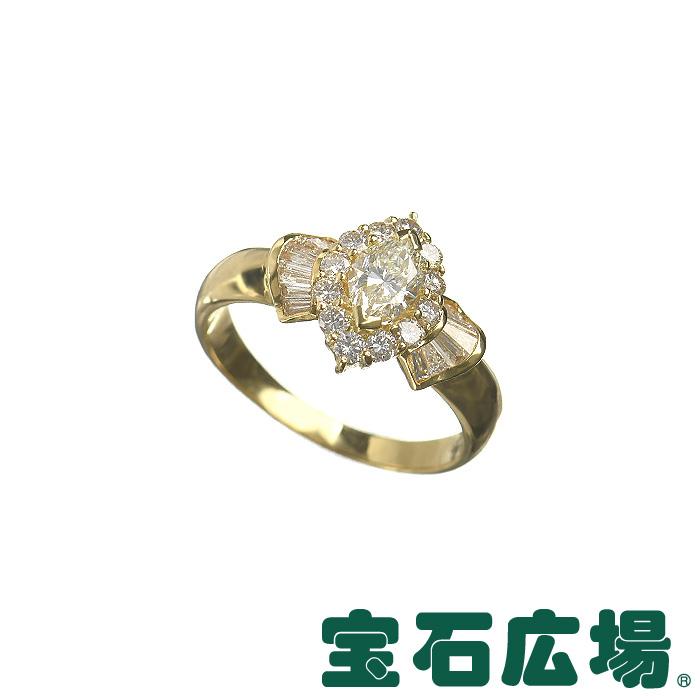 ノーブランド マーキスダイヤ・テーパーダイヤ・ダイヤ リング 【中古】 ジュエリー 送料無料