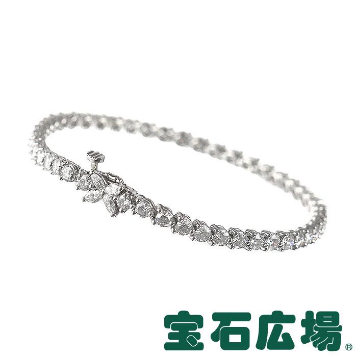 ティファニー TIFFANY&CO ビクトリア ライン 4Pマーキスダイヤ・ダイヤ ブレスレット 13265933【中古】 ジュエリー 送料無料
