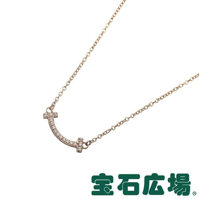 ティファニー TIFFANY&CO Tスマイル ダイヤ ネックレス(マイクロ) 62617780【新品】 ジュエリー 送料・代引手数料無料