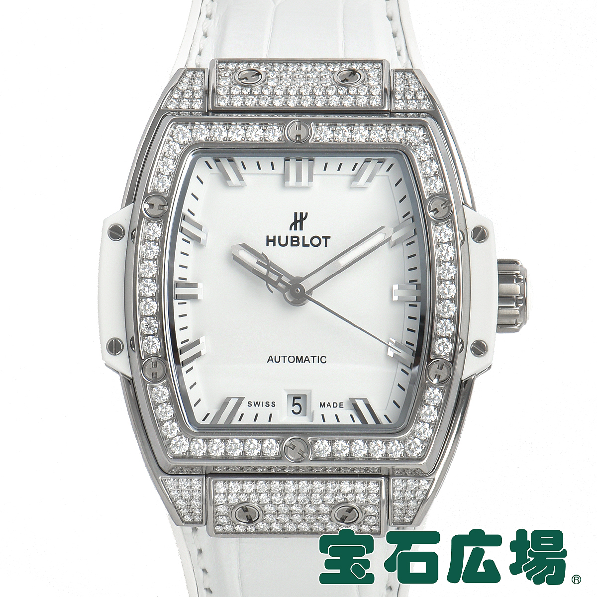 ウブロ HUBLOT スピリット オブ ビッグバン チタニウムダイヤモンド 665.NE.2010.LR.1604【新品】ユニセックス 腕時計 送料無料