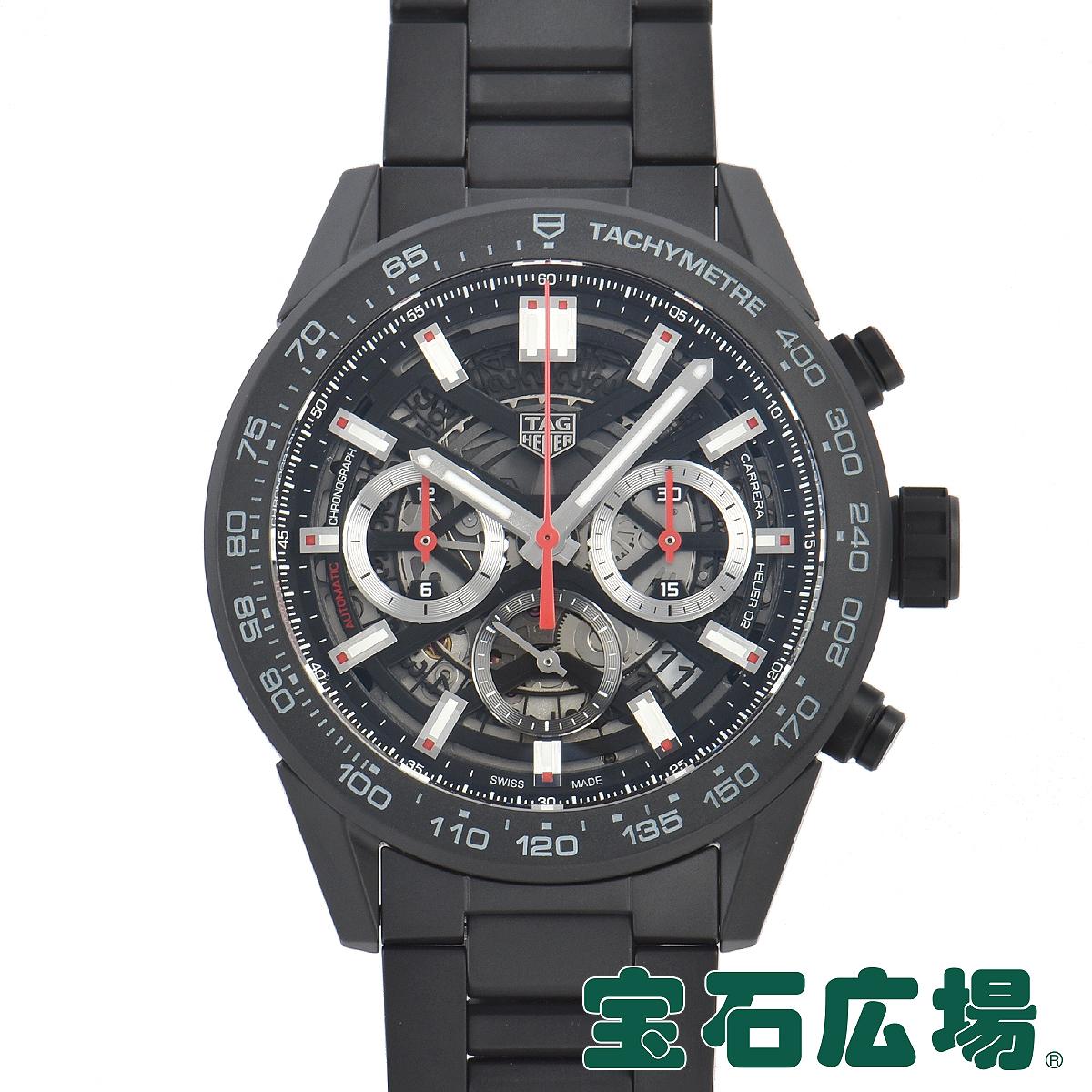 タグ・ホイヤー TAG HEUER カレラ キャリバーホイヤー02 クロノグラフ45mm CBG2A90.BH0653【新品】メンズ 腕時計 送料・代引手数料無料