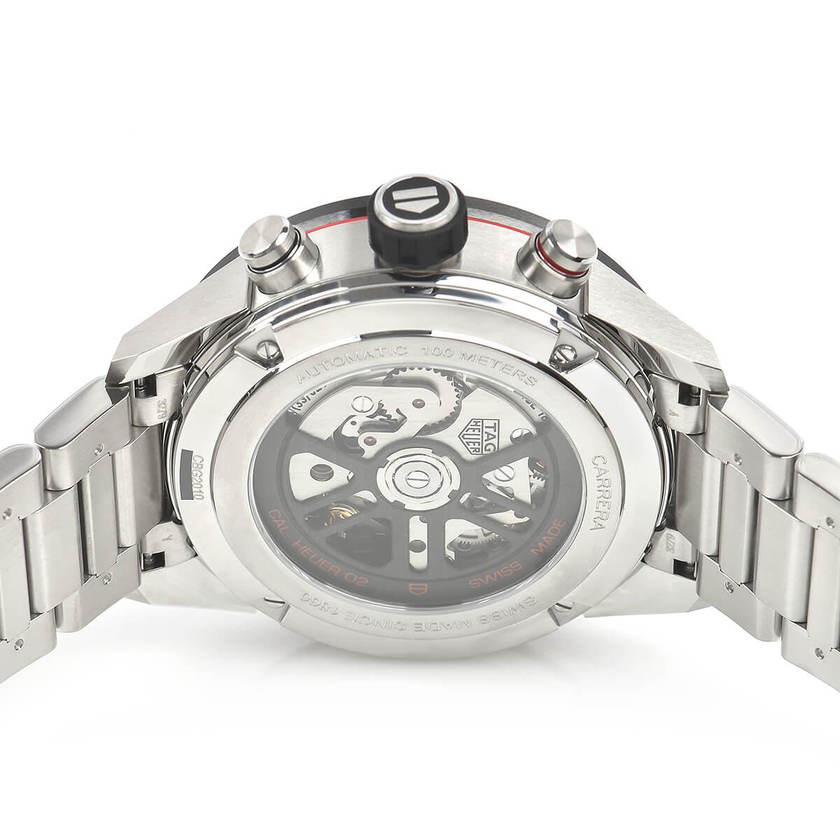 タグ・ホイヤー TAG HEUER カレラ キャリバーホイヤー02 クロノグラフ 43mm CBG2010.BA0662【新品】メンズ 腕時計 送料・代引手数料無料