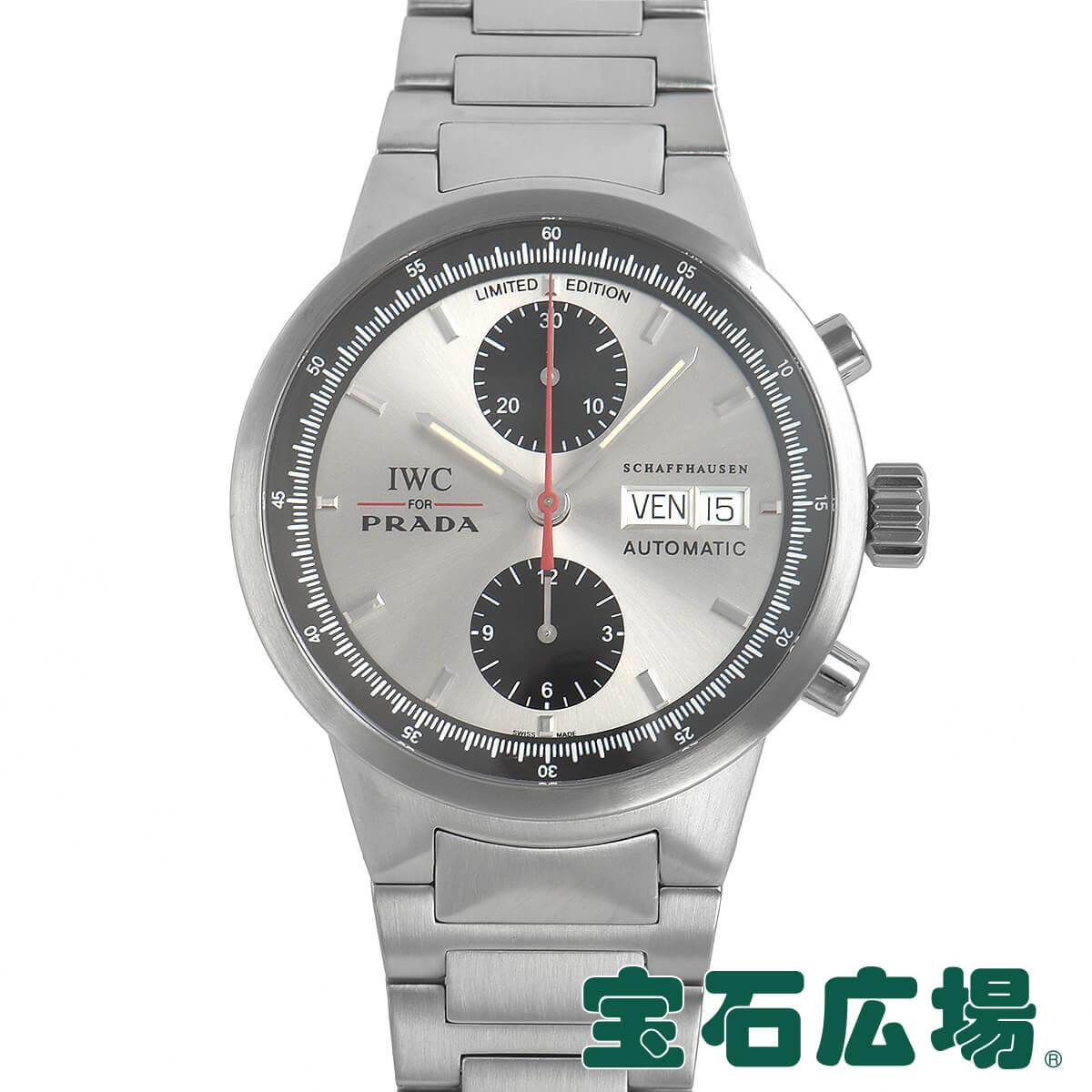 IWC (アイ・ダブリュー・シー) GSTクロノPRADA 世界限定2000本 IW370802【中古】メンズ 腕時計 送料無料