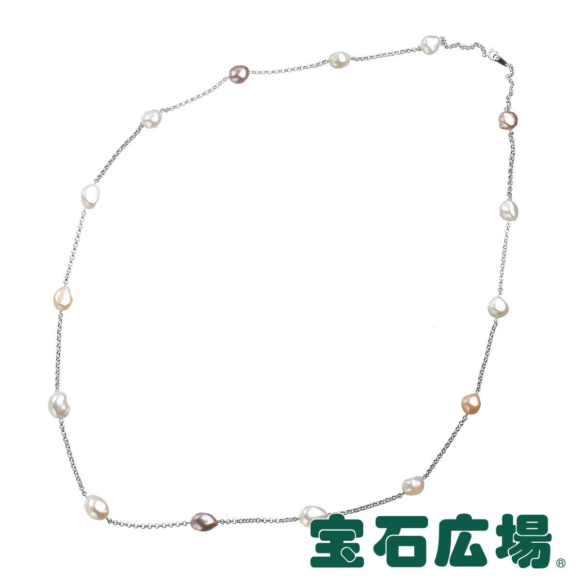TASAKI 15Pバロックパール ロングステーションネックレス 【中古】 ジュエリー 送料無料