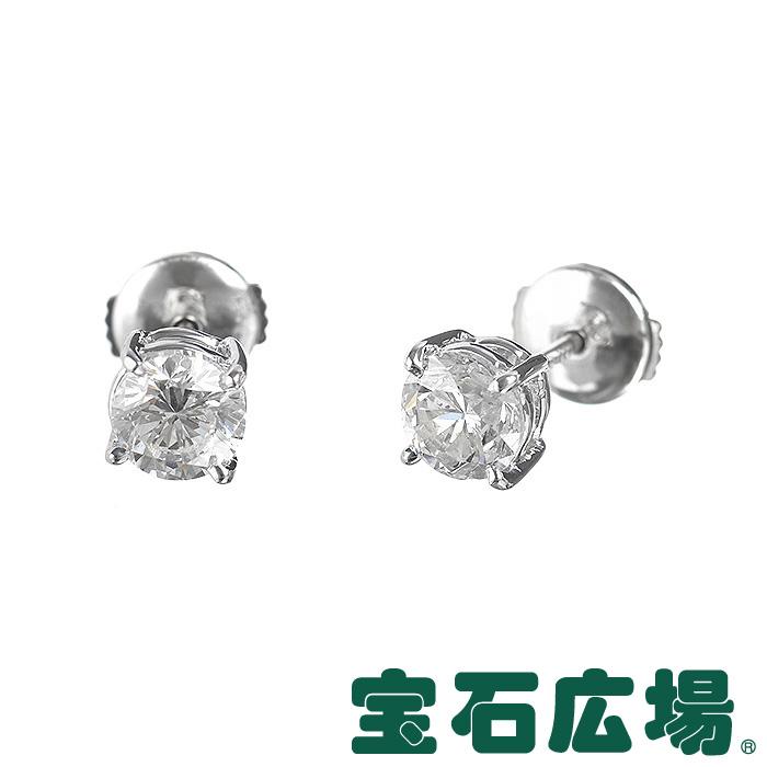 ダイヤモンド ジュエリー 宝石広場オリジナル ダイヤピアス D 1.003ct/1.005ct 【新品】 ジュエリー 送料無料