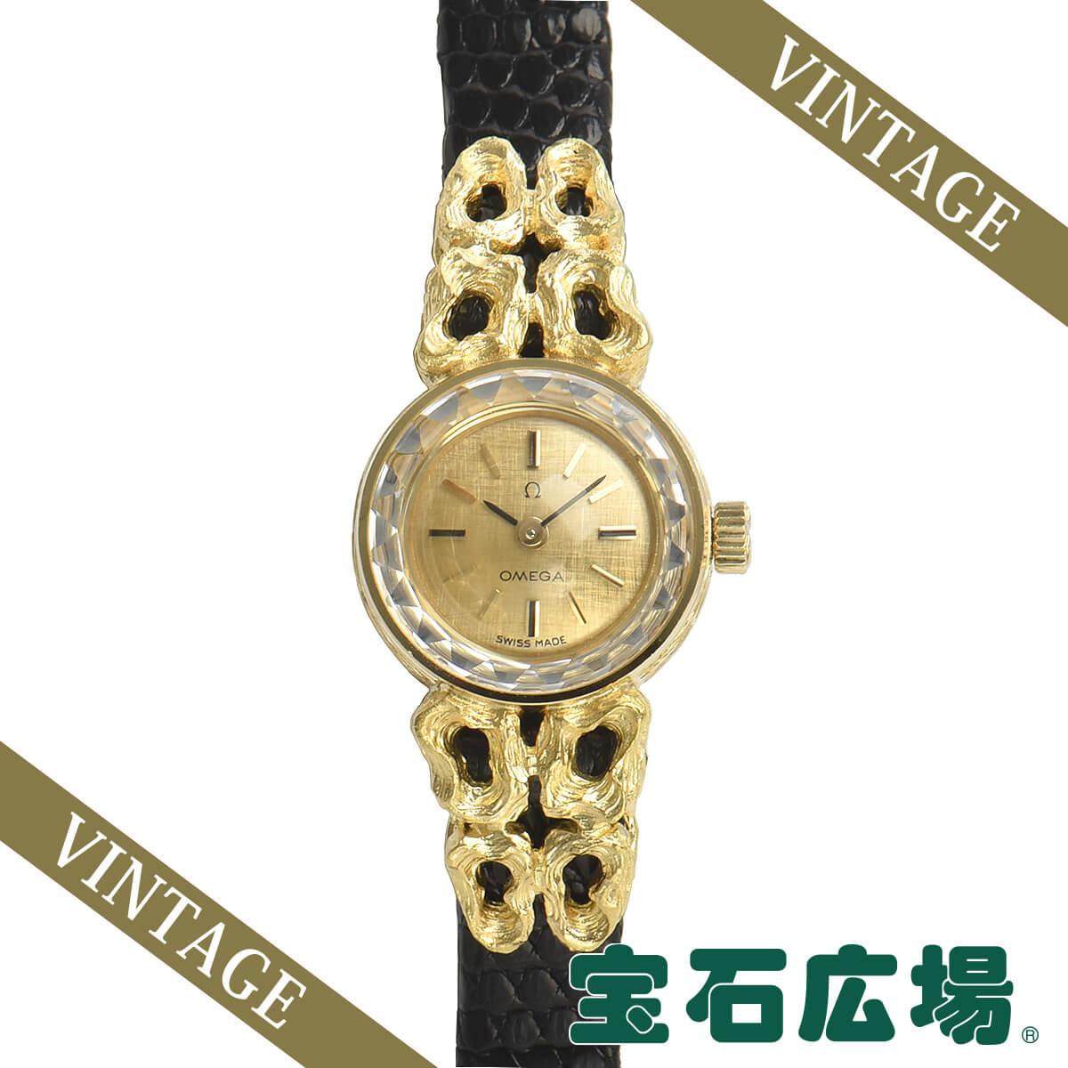 オメガ OMEGA ラウンド 2針 246【中古】レディース 腕時計 送料・代引手数料無料