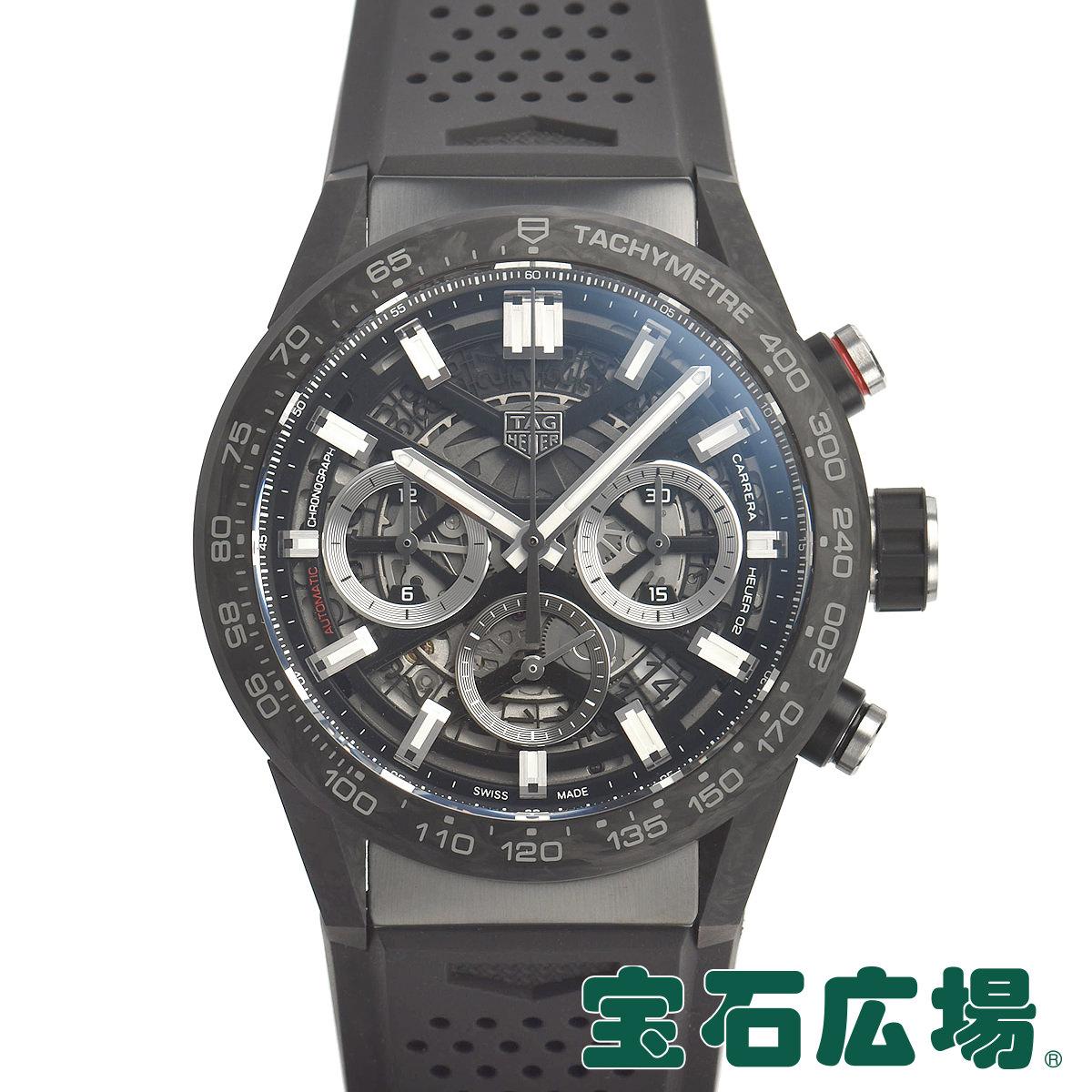 タグ・ホイヤー TAG HEUER カレラ キャリバーホイヤー02 クロノグラフ43mm CBG2016.FT6143【新品】メンズ 腕時計 送料・代引手数料無料