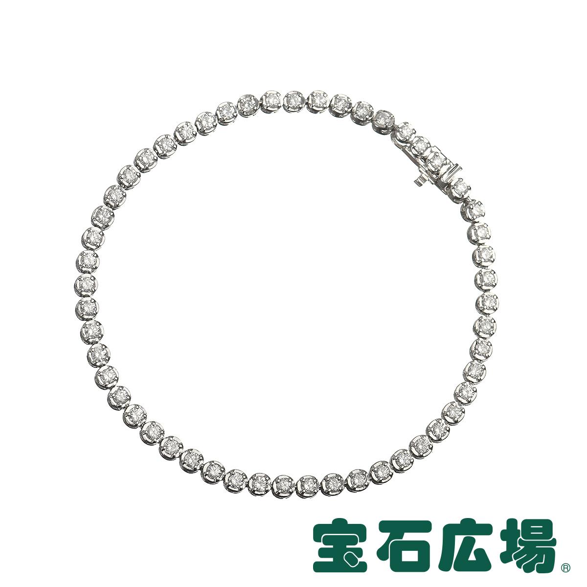 ノーブランド ダイヤ テニスブレスレット 【中古】 ジュエリー 送料無料