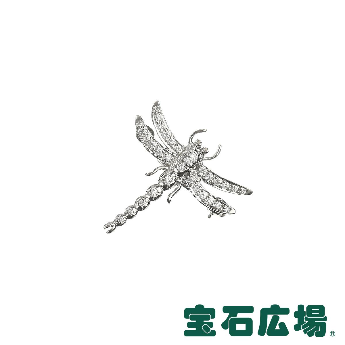ティファニー TIFFANY&CO ドラゴンフライ ダイヤ ブローチ(ミニ) 【中古】 ジュエリー 送料無料