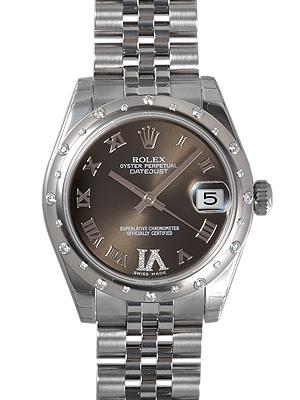ロレックス ROLEX デイトジャスト 178344【新品】 ユニセックス 腕時計 送料・代引手数料無料