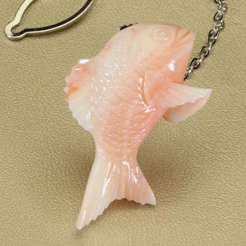 ピンクサンゴ ミッド珊瑚 タイタック 鯛 無染色 JUNSUI 天然 sango 本さんご コーラル 宝石サンゴ 専門店