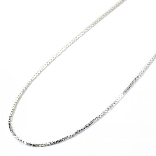 チェーン ベネチアン K18WG 45cm SANSUI 宝石サンゴ 天然 本さんご コーラル