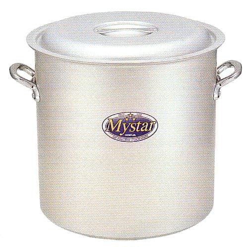 使いやすさと確かな品質で 味の業に応える 卸売り ホクア プロマイスター アルマイト加工 アルミ寸胴鍋 54cm 安値