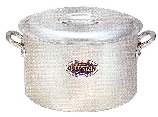 使いやすさと確かな品質で 味の業に応える ホクア プロマイスター アルミ半寸胴鍋 39cm 高級 アルマイト加工 SEAL限定商品