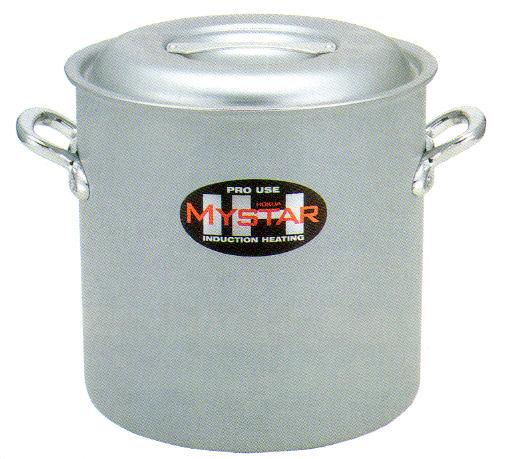 ホクア プロマイスターIH アルミ寸胴鍋 24cm オール電源対応。