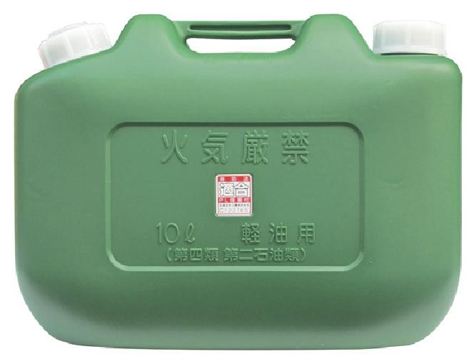 軽油の運搬 秀逸 備蓄を安全に ヒシエス 10L OUTLET SALE 国産品 軽油缶