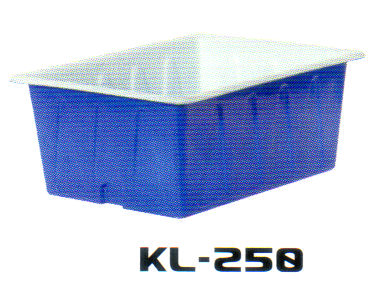 スイコー 角型大型KL型容器(浅型)  250型 KL-250