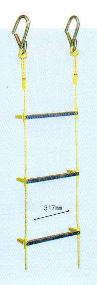 【SALE】 小カギ付き 長さ10mアルミ製縄はしご 小カギ付き 長さ10m, エンジョイ特選館:b821c2fe --- retedifamiglie.it