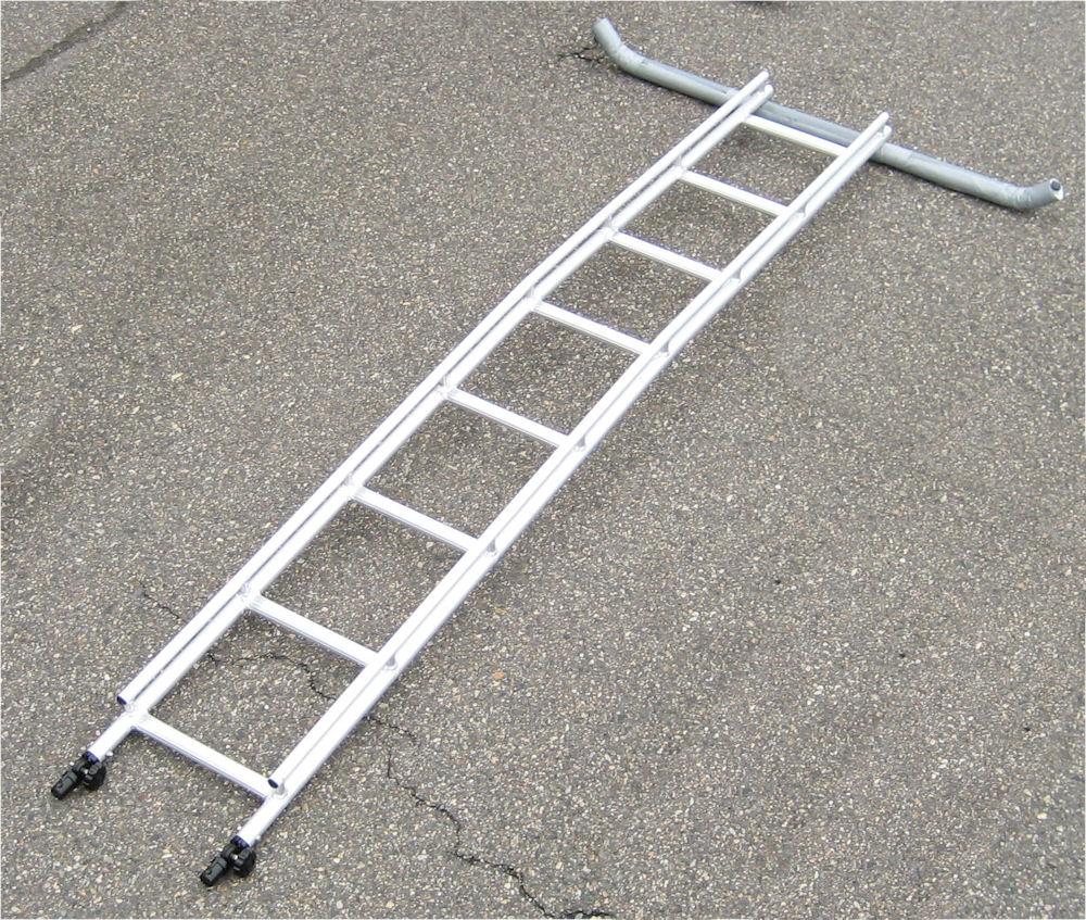 ミツル ビニールハウス専用梯子セレクトフィット用延長梯子2.4m