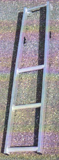 ミツル ビニールハウス専用梯子セレクトフィット用補助ステップ SPS-3