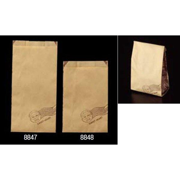 大阪ポリエチレン販売 8847 耐油紙袋 No188 GZ袋スイートハート(大) 120(マチ70)×230+18mm 1ケース2000枚入